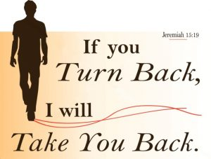 Turn back to God
