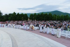 Priests at Archbishop Hoser Medjugorje Mass